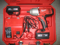 Just arrived ! Powerful Heavy Duty Cordless Impact Wrenches. Milwaukee 18 volt Lithium-ion 12mm drive